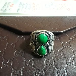 Boho Antique Silver Ring